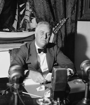Franklin D. Roosevelt, First Fireside Chat, 1933